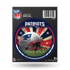 NEW ENGLAND PATRIOTS ROUND DECAL
