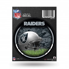 OAKLAND RAIDERS SHIELD ROUND DECAL