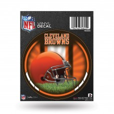 CLEVELAND BROWNS ROUND DECAL