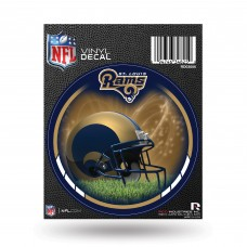ST. LOUIS RAMS ROUND DECAL
