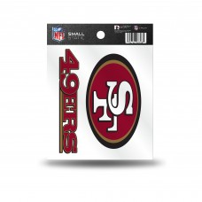 49ERS STATIC CLING SMALL