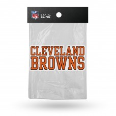 BROWNS SHAPE CUT STATIC CLING
