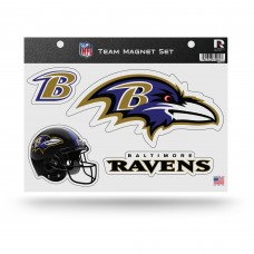 RAVENS TEAM MAGNET SHEET