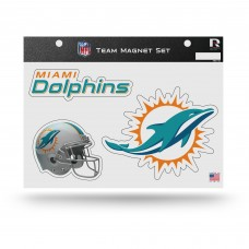 MIAMI DOLPHINS TEAM MAGNET SHEET