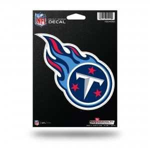 TENNESSEE TITANS MEDIUM DIE CUT STICKERS