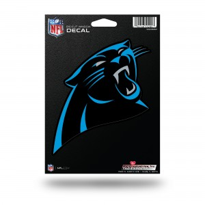 CAROLINA PANTHERS MEDIUM DIE CUT STICKERS