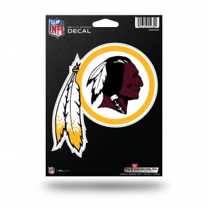 REDSKINS MEDIUM DIE CUT STICKERS