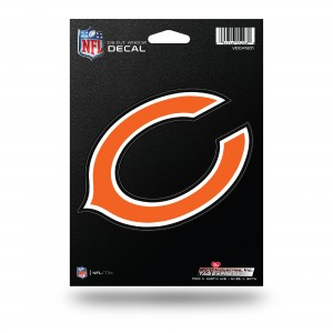 CHICAGO BEARS MEDIUM DIE CUT STICKERS