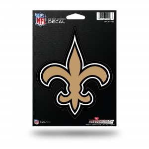 NEW ORLEANS SAINTS MEDIUM DIE CUT STICKERS