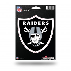 OAKLAND RAIDERS MEDIUM DIE CUT STICKERS