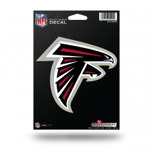 ATLANTA FALCONS MEDIUM DIE CUT STICKERS