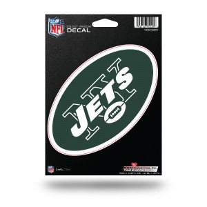 NEW YORK JETS MEDIUM DIE CUT STICKERS