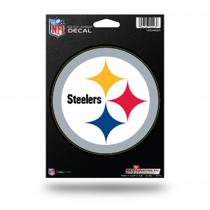 PITTSBURGH STEELERS MEDIUM DIE CUT DECAL