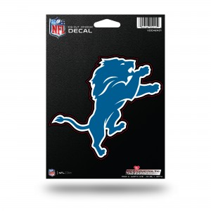 DETROIT LIONS MEDIUM DIE CUT STICKERS