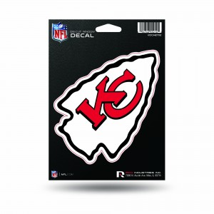 CHIEFS MEDIUM DIE CUT STICKERS