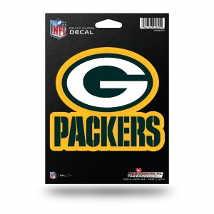 PACKERS MEDIUM DIE CUT STICKERS