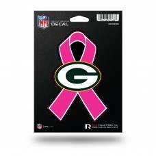 PACKERS BREAST CANCER DIE CUT DECAL