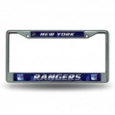 NEW YORK RANGERS CHROME FRAME
