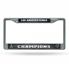 LA KINGS STANLEY CUP CHAMP CHROME FRAME
