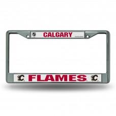 CALGARY FLAMES CHROME FRAME