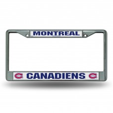 MONTREAL CANADIENS CHROME FRAME