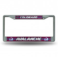 AVALANCHE BLING CHROME COLORADO LICENSE PLATE FRAME