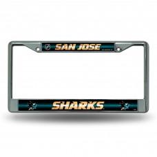 SHARKS BLING CHROME FRAME