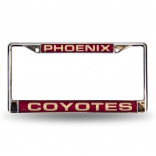 PHOENIX COYOTES RED LASER CHROME FRAME