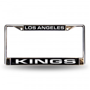 LA KINGS LASER CHROME CALIFORNIA LICENSE PLATE FRAME