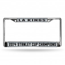 LA KINGS STANLEY CUP CHAMP LASER CHROME FRAME