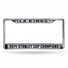 LA KINGS STANLEY CUP CHAMP LASER CHROME FRAME