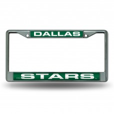 DALLAS STARS GREEN LASER CHROME FRAME