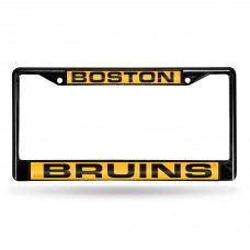 BOSTON BRUINS BLACK LASER CHROME FRAME