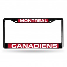 MONTREAL CANADIENS BLACK LASER CHROME FRAME