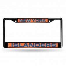 NEW YORK ISLANDERS BLACK LASER CHROME FRAME