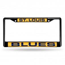 ST LOUIS BLUES BLACK LASER CHROME FRAME