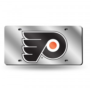PHILADELPHIA FLYERS LASER Pennsylvania License Plates SILVER