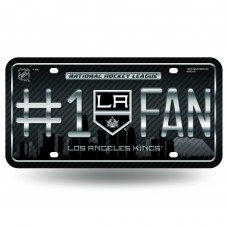 LOS ANGELES KINGS #1 FAN SKYLINE METAL TAG