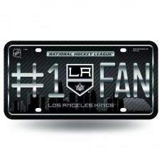 LOS ANGELES KINGS #1 FAN SKYLINE METAL TAG