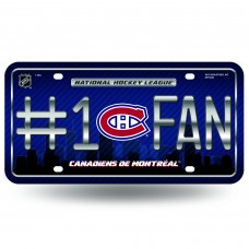 MONTREAL CANADIENS #1 FAN METAL TAG