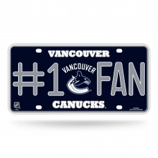 VANCOUVER CANUCKS #1 FAN METAL TAG