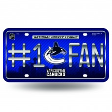 VANCOUVER CANUCKS #1 FAN SKYLINE METAL TAG