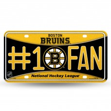 BRUINS BLING # 1 FAN METAL TAG