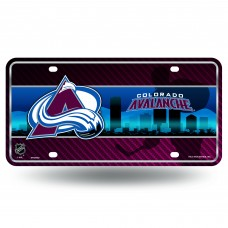 AVALANCHE METAL COLORADO LICENSE PLATE