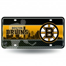 BOSTON BRUINS SKYLINE METAL TAG