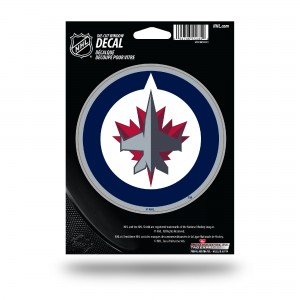 WINNIPEG JETS MEDIUM DIE CUT STICKERS