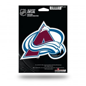 COLORADO AVALANCHE MEDIUM DIE CUT STICKERS