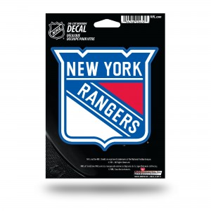 NEW YORK RANGERS MEDIUM DIE CUT STICKERS