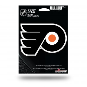 PHILADELPHIA FLYERS MEDIUM DIE CUT STICKERS