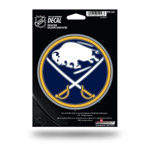 BUFFALO SABRES MEDIUM DIE CUT STICKERS